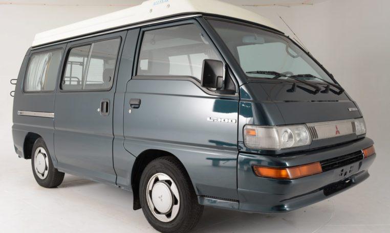 1992 Mitsubishi Delica L300 CAMPER LHD DelicaUSA